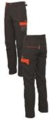 Pantaloni con porta ginocchiere