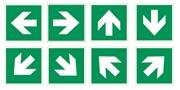 Cartello segnaletico freccia