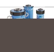 Cilindri idraulici pistone forato Semplice Effetto