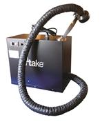 Unità portatile aspiraz e filtraz fumi saldatura