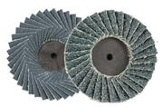 Disco abrasivo lamellare zirconio con attacco rapido maschio AB5090