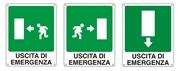 Cartello segnaletico di emergenza
