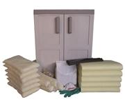Kit antisversamento per prodotti CHIMICI in armadio