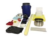 Kit antisversamento per RISCHIO CHIMICO in contenitori cilindrici