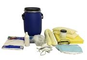 Kit antisversamento per LIQUIDI BIOLOGICI in contenitori cilindrici