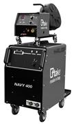 NAVY 400, saldatrice TIG, MMA, MIG-MAG, con accessori
