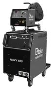 NAVY 500, saldatrice TIG, MMA, MIG-MAG, con accessori