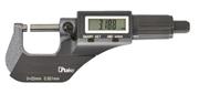 Micrometro digitale con superfici contatto in metallo duro