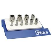 Espositore frese a tazza in HSS per trapani a supporto magnetico